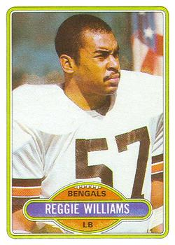 1980 Topps #187 Reggie Williams
