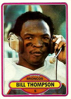 1980 Topps #212 Bill Thompson front image