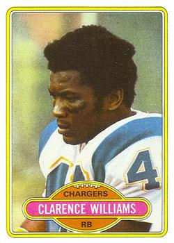 1980 Topps #237 Clarence Williams RB