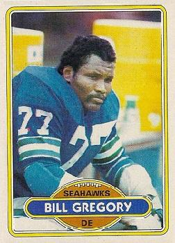 1980 Topps #292 Bill Gregory