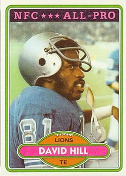 1980 Topps #295 David Hill AP