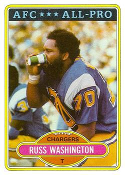 1980 Topps #305 Russ Washington AP