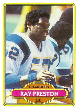 1980 Topps #326 Ray Preston