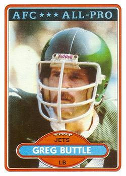 1980 Topps #340 Greg Buttle AP
