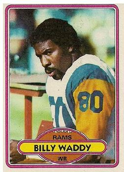 1980 Topps #342 Billy Waddy