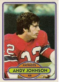 1980 Topps #372 Andy Johnson