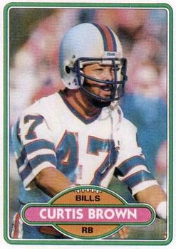 1980 Topps #443 Curtis Brown