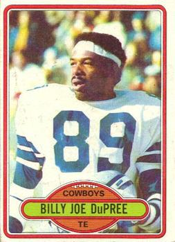 1980 Topps #455 Billy Joe DuPree