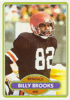 1980 Topps #483 Billy Brooks