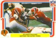 1980 Fleer Team Action #1 Atlanta Falcons