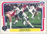1980 Fleer Team Action #7 Chicago Bears