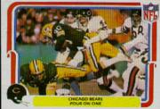 1980 Fleer Team Action #8 Chicago Bears