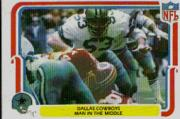 1980 Fleer Team Action #14 Dallas Cowboys