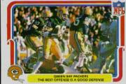 1980 Fleer Team Action #20 Green Bay Packers