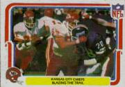 1980 Fleer Team Action #23 Kansas City Chiefs