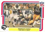 1980 Fleer Team Action #29 Minnesota Vikings