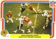1980 Fleer Team Action #34 New Orleans Saints