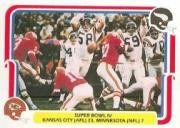 1980 Fleer Team Action #60 Super Bowl IV