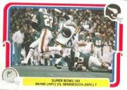 1980 Fleer Team Action #64 Super Bowl VIII