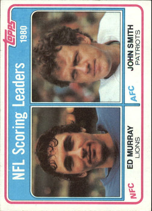 1981 Topps #4 Scoring Leaders