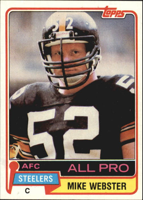 1981 Topps #10 Mike Webster