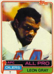 1981 Topps #30 Leon Gray AP front image