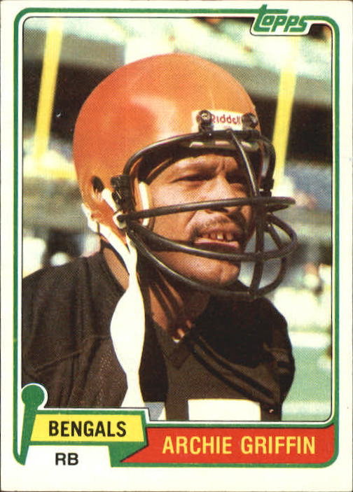 1981 Topps #38 Archie Griffin