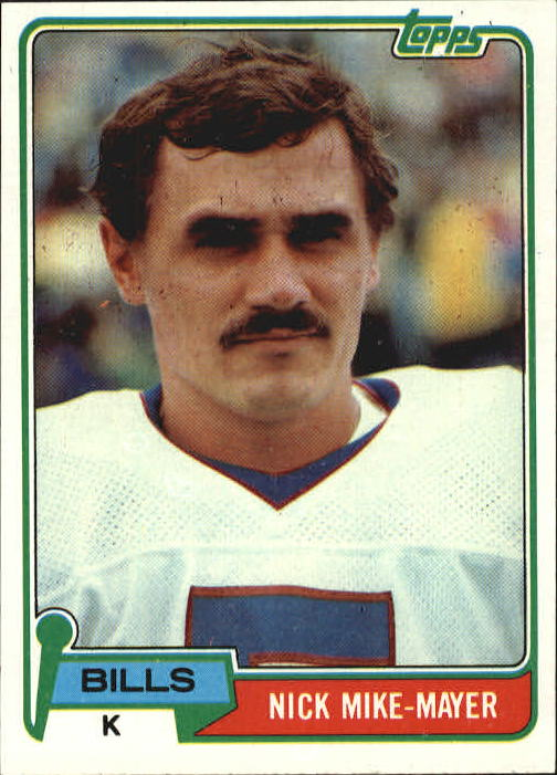 1981 Topps #56 Nick Mike-Mayer front image