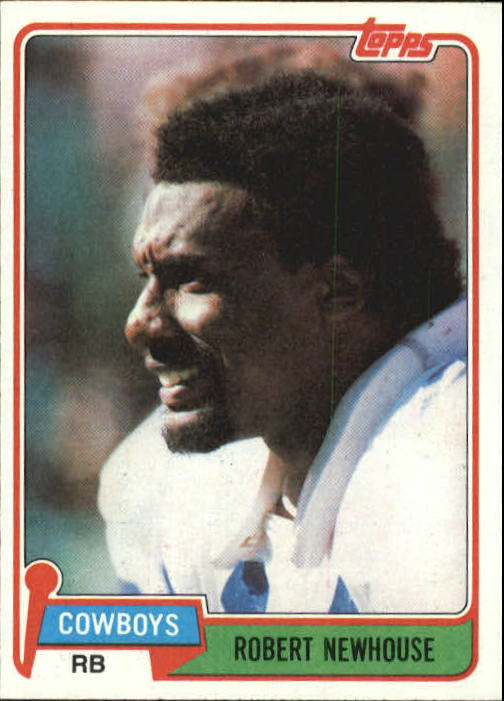 1981 Topps #71 Robert Newhouse