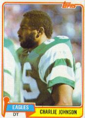 1981 Topps #92 Charlie Johnson NT front image