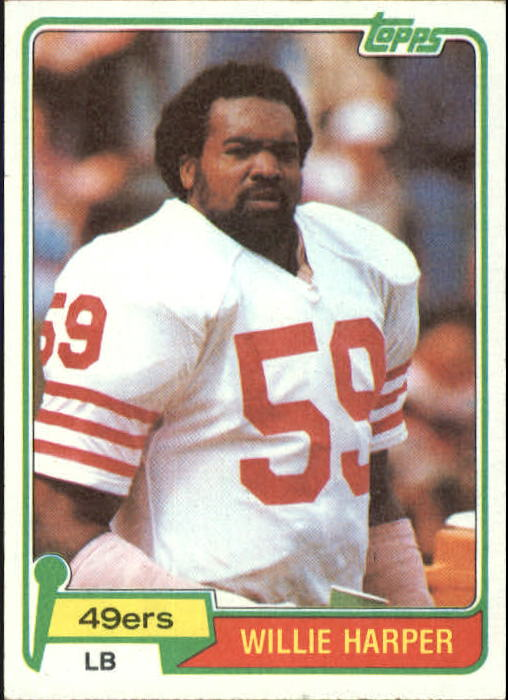1981 Topps #109 Willie Harper RC