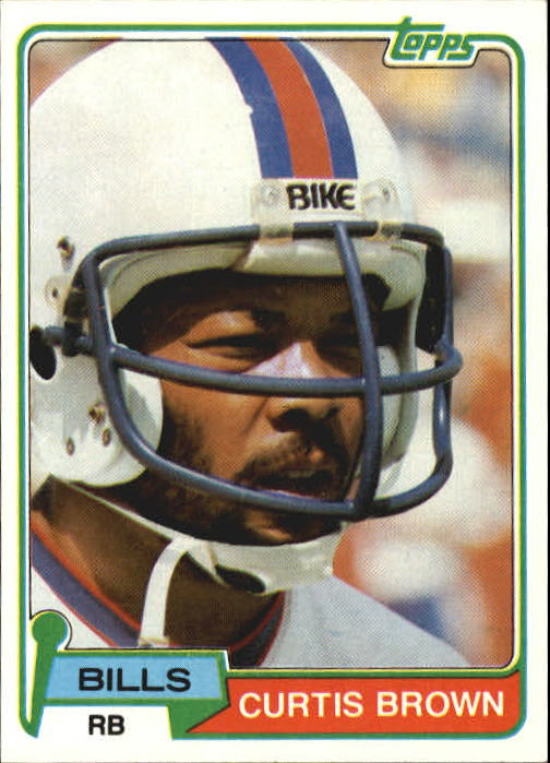 1981 Topps #133 Curtis Brown