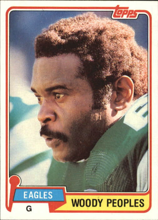 1981 Topps #154 Woody Peoples