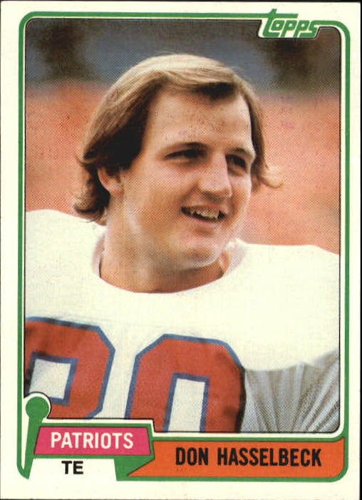 1981 Topps #159 Don Hasselbeck