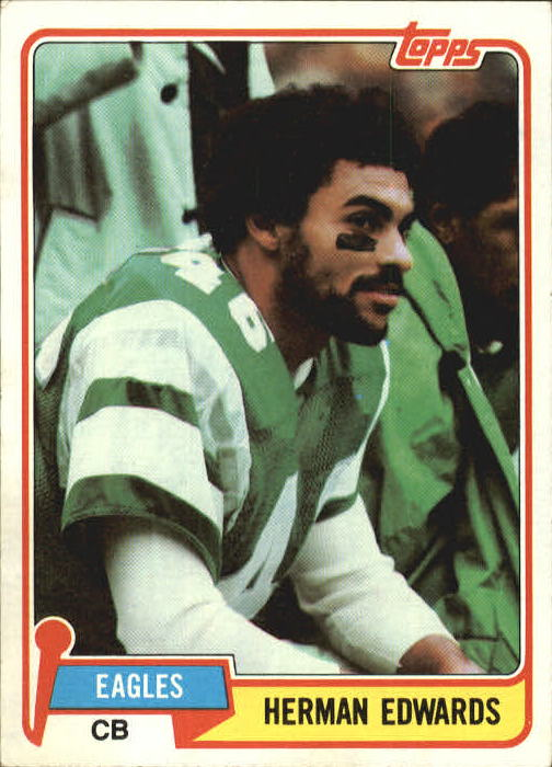 1981 Topps #179 Herman Edwards