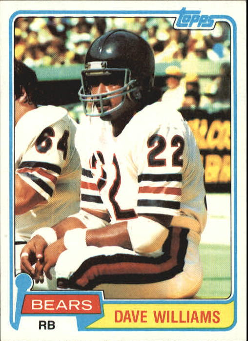 1981 Topps #193 Dave Williams RB RC