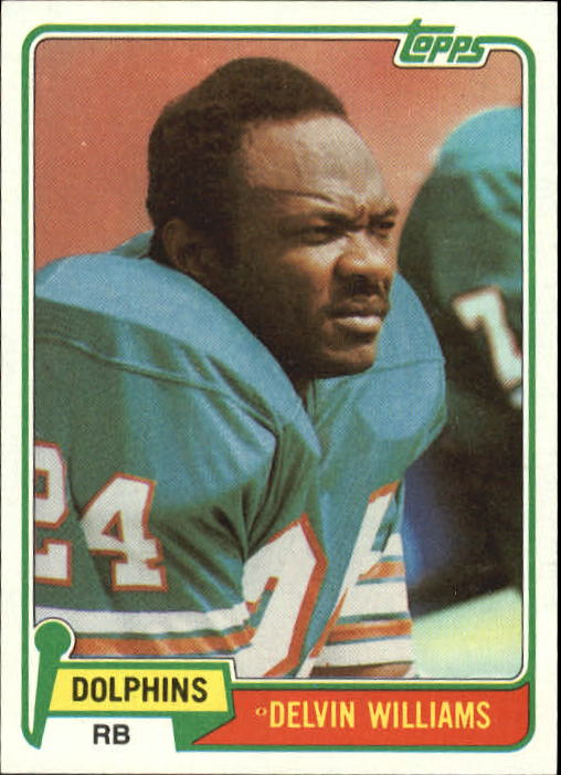 1981 Topps #287 Delvin Williams