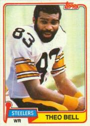1981 Topps #351 Theo Bell
