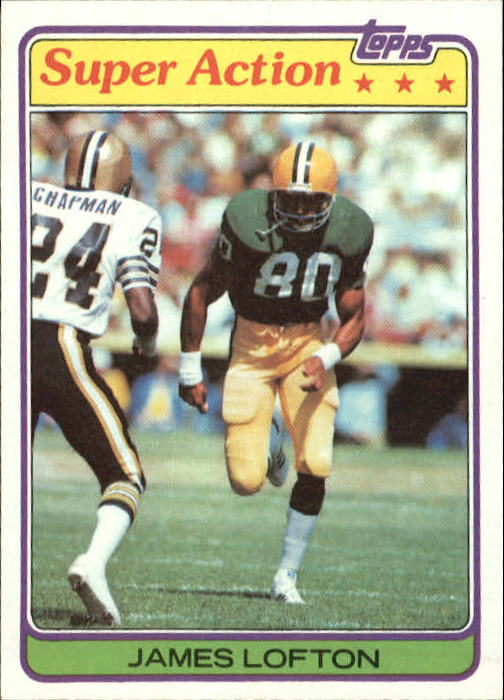 1981 Topps #361 James Lofton SA