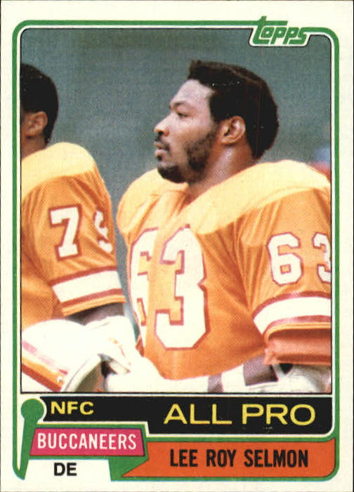 1981 Topps #410 Lee Roy Selmon