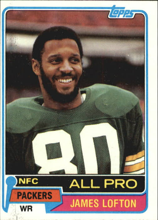 1981 Topps #430 James Lofton