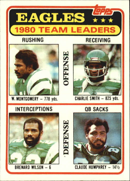 1981 Topps #507 Philadelphia Eagles TL