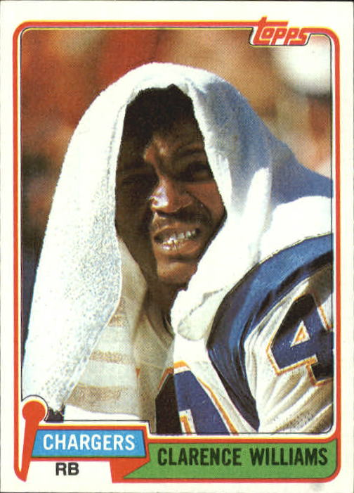 1981 Topps #509 Clarence Williams RB