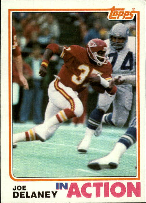 1982 Topps #113 Joe Delaney IA