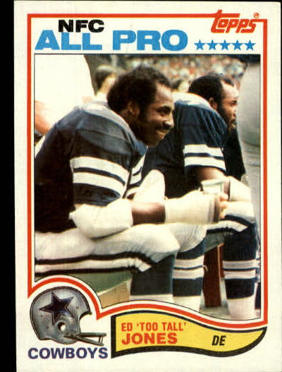 1982 Topps #318 Ed Too Tall Jones