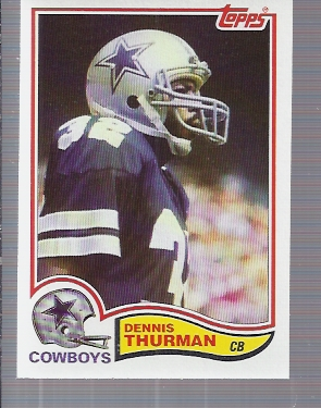 1982 Topps #326 Dennis Thurman RC