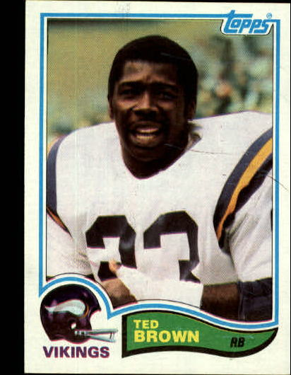 1982 Topps #391 Ted Brown