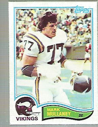1982 Topps #395 Mark Mullaney