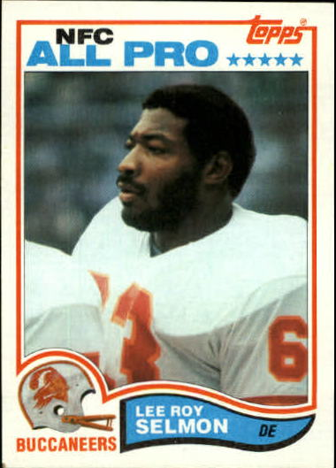 1982 Topps #505 Lee Roy Selmon