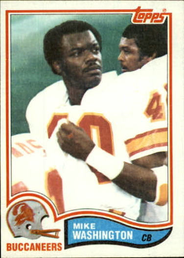 1982 Topps #506 Mike Washington
